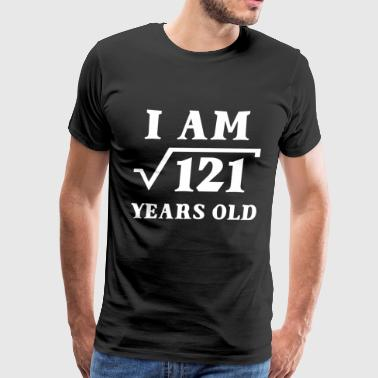 I Am Root 121 11 Years Old Tee Shirts Gifts - Men's Premium T-Shirt