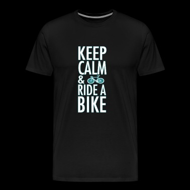 ride a bike - Men's Premium T-Shirt