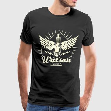 Watson Custom Apparel Spark Plug - Men's Premium T-Shirt
