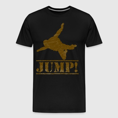skydiving jump - Men's Premium T-Shirt