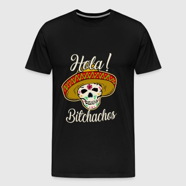 Cool Cinco de Mayo Skull TShirt for men women - Men's Premium T-Shirt