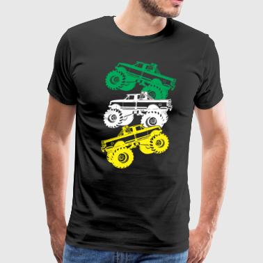 Monster Truck Cool Shirt - Men's Premium T-Shirt