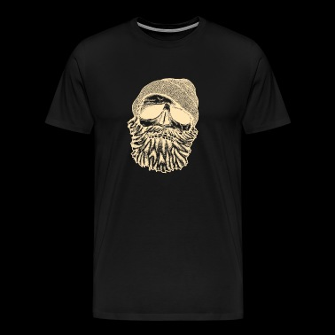 Beard | Funny Beard T-Shirt Sailor Lumberjack - Men's Premium T-Shirt
