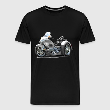 Goldwing White Trike - Men's Premium T-Shirt
