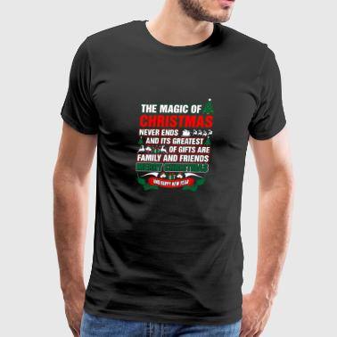 The Magic Of Christmas Never Ends - Men's Premium T-Shirt