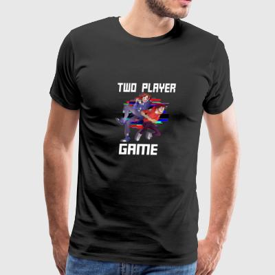 Two Player Game - Men's Premium T-Shirt