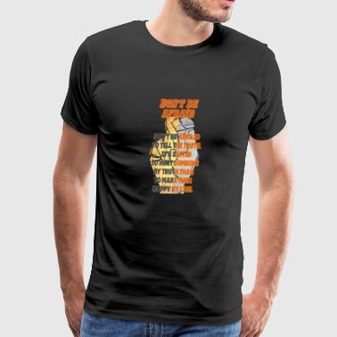 Dont be afraid - Men's Premium T-Shirt