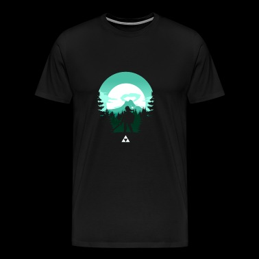 The Legend Of Zelda Green T shirt - Men's Premium T-Shirt