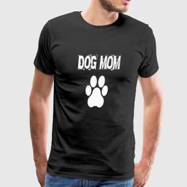 Dog Mom Badass - Men's Premium T-Shirt