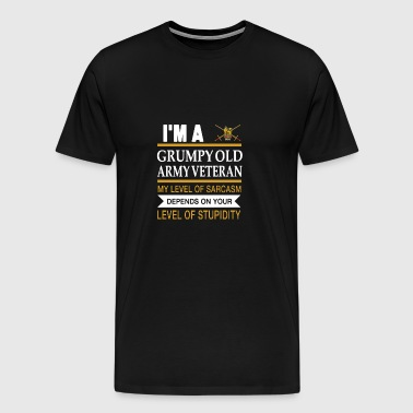veteran iraq - Men's Premium T-Shirt