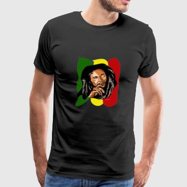 Bob Marley Jamicians Clothing - Men's Premium T-Shirt