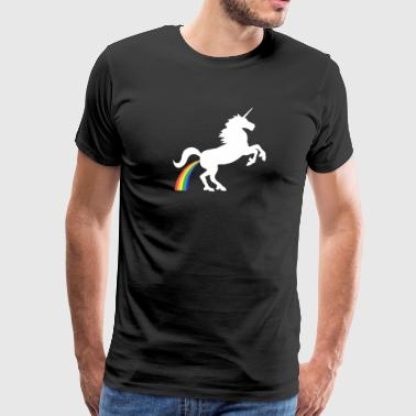 Pegasus Rainbow - Men's Premium T-Shirt