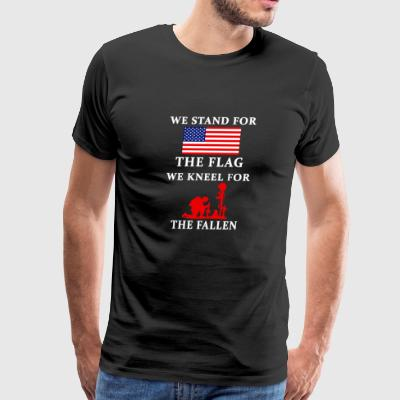 WE stand for the fla - Men's Premium T-Shirt