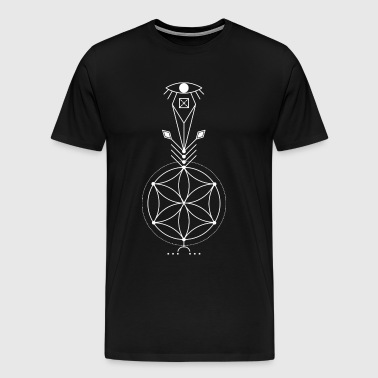 SACRED GEOMETRIC  - Men's Premium T-Shirt
