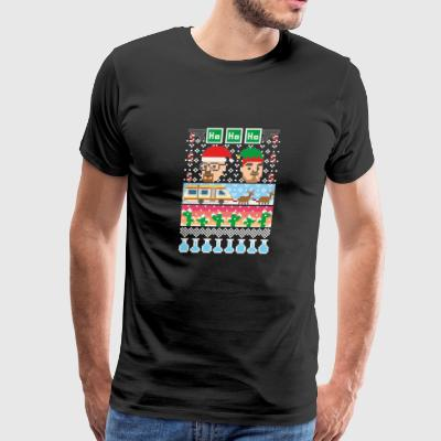 Breaking Christmas Ugly Christmas Sweater - Men's Premium T-Shirt