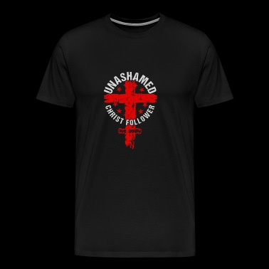 Unashamed Christ Follower - Men's Premium T-Shirt