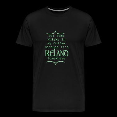 Irish Whiskey - Men's Premium T-Shirt