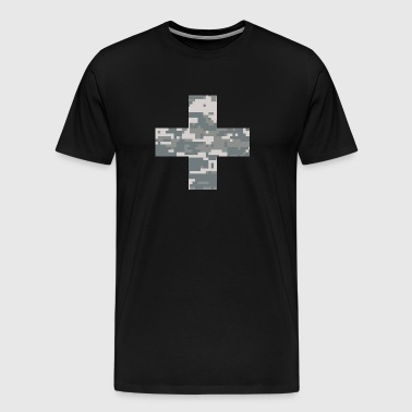 Military Swiss Cross - Men's Premium T-Shirt