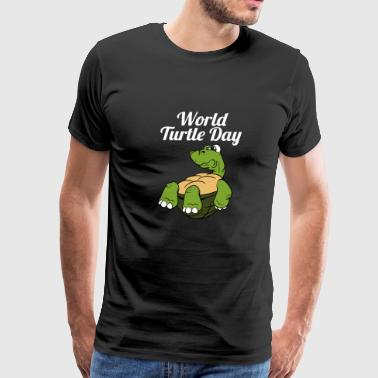 World Turtle Day Tortoise - Men's Premium T-Shirt