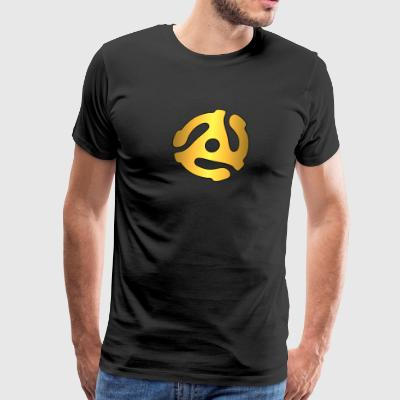 45 adapter gold - Men's Premium T-Shirt