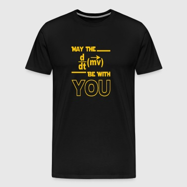 MAY THE be with you - Men's Premium T-Shirt