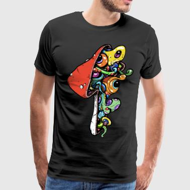Monster Mushrooms - Men's Premium T-Shirt