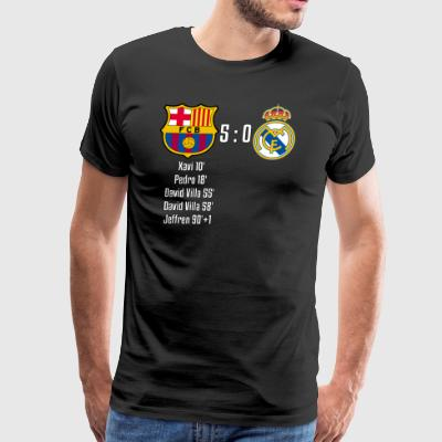FC Barcelona 5-0 Real Madrid - Men's Premium T-Shirt