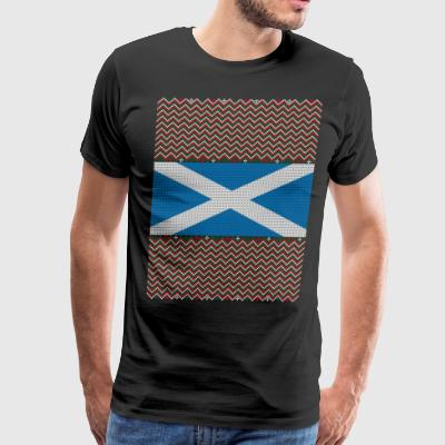 Scottish Ugly Christmas Sweater - Men's Premium T-Shirt