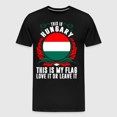 This Is Hungary - Men's Premium T-Shirt