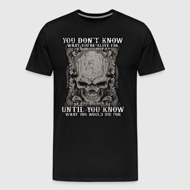 Tattoo tattooed tattoos skull art quote gift idea - Men's Premium T-Shirt