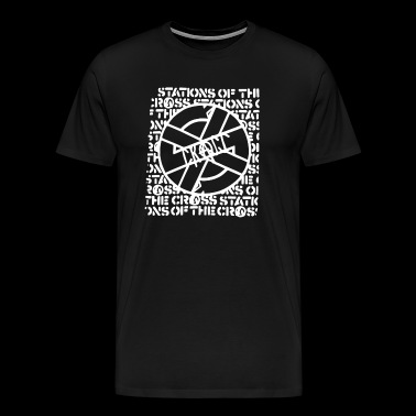 Crass band logo - Men's Premium T-Shirt