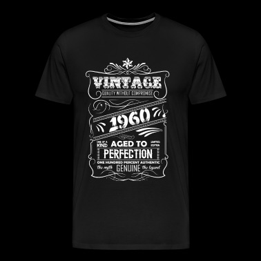 Vintage Aged To Perfection 1960 - Men's Premium T-Shirt