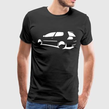 Gti Mk5 Mk6 Car Jetta Euro Golf t sh - Men's Premium T-Shirt