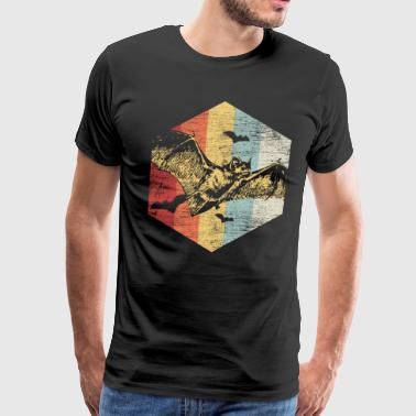 Polygon Bat - Men's Premium T-Shirt