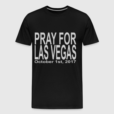 Pray for las vegas - Men's Premium T-Shirt