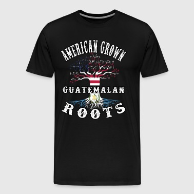 Guatemala T Shirt Guatemala T-shirt American Grown - Men's Premium T-Shirt