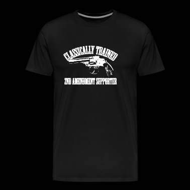 2nd Amendment Supporter T Shirt - Men's Premium T-Shirt