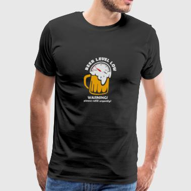 Beer Level Low - Men's Premium T-Shirt