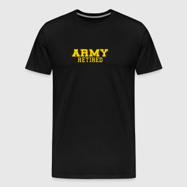 Army Retired - Men's Premium T-Shirt