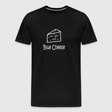 Blue Cheese White - Men's Premium T-Shirt