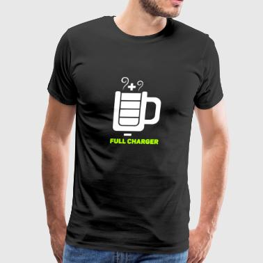 New Design Full Charger Best Seller - Men's Premium T-Shirt