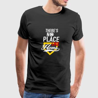 New Design There s no place like home softball - Men's Premium T-Shirt