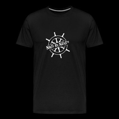 Nauti By Nature logo - Men's Premium T-Shirt