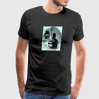 Paul Lays In Wait for an Unwelcome Visitor - Men's Premium T-Shirt