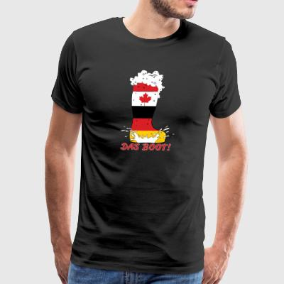 Das Boot Splash - Men's Premium T-Shirt