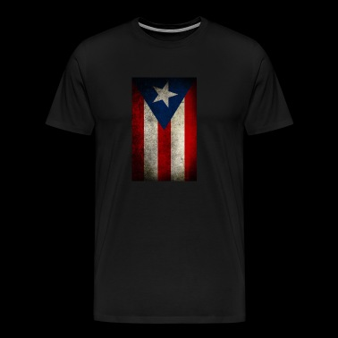 puerto rico flag vertical - Men's Premium T-Shirt