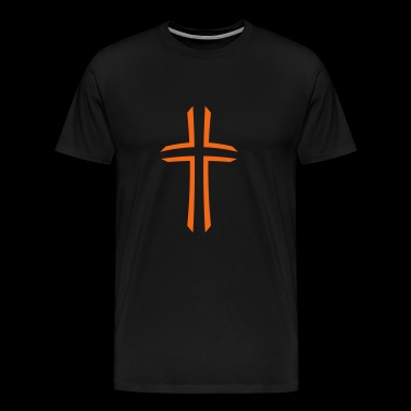 2541614 15397416 Kreuz - Men's Premium T-Shirt