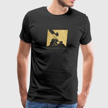 Veterans Day Gold Soldiers - Men's Premium T-Shirt