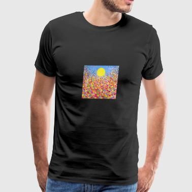 Wildflower Meadows - Men's Premium T-Shirt