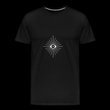 Electric Eyes funny geek nerd - Men's Premium T-Shirt